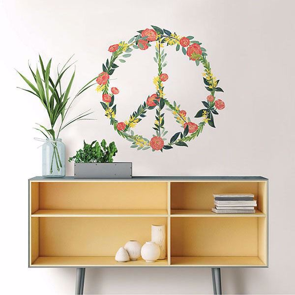 Picture of At Peace Wall Art Kit