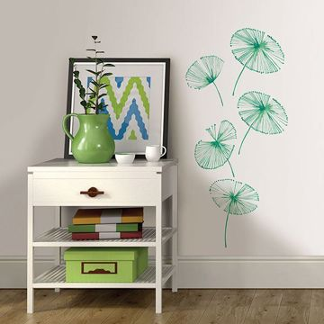 Picture of Watercolor Fronds Wall Art Kit