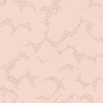 Picture of Himmel Blush Abstract Dots Wallpaper
