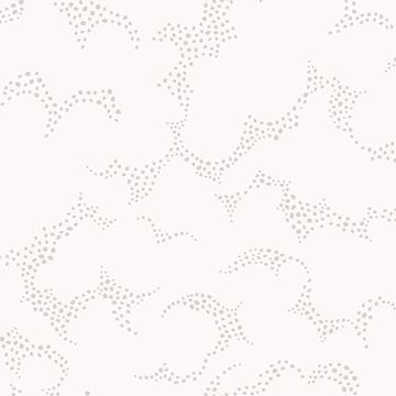 Picture of Himmel Grey Abstract Dots Wallpaper