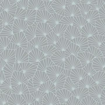 Picture of Blomma Sage Geometric Wallpaper