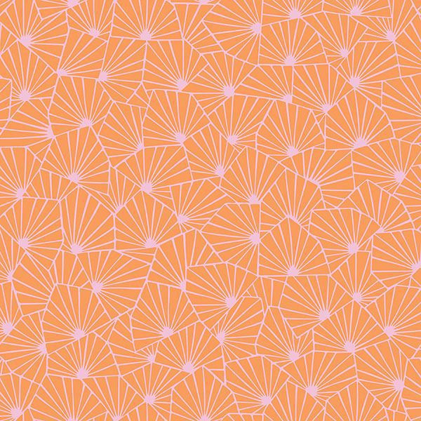 0022004 blomma orange geometric wallpaper 600