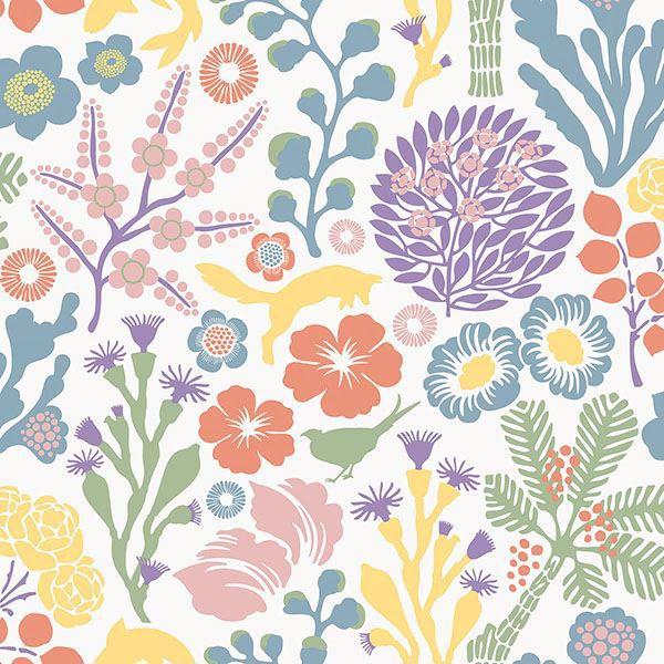 Picture of Flytta Multicolor Fauna Wallpaper