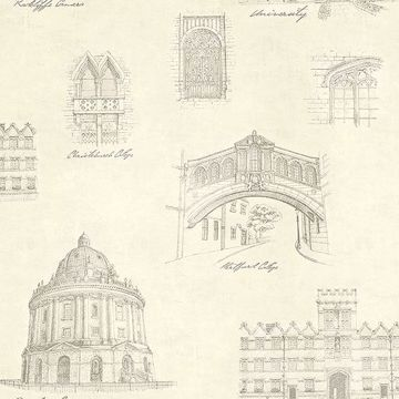 Picture of Estate Cream Illustration Wallpaper