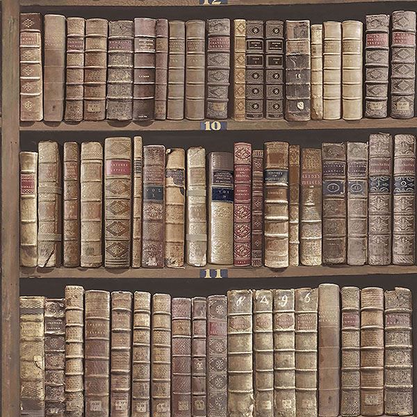 Picture of Trinity Library Red Book Wallpaper