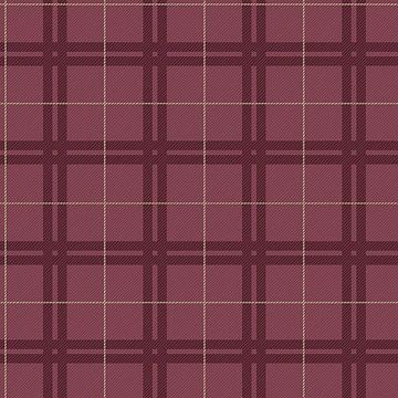Picture of Hilary Red Plaid Wallpaper