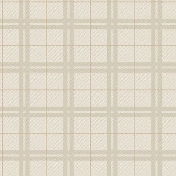 Picture of Hilary Beige Plaid Wallpaper