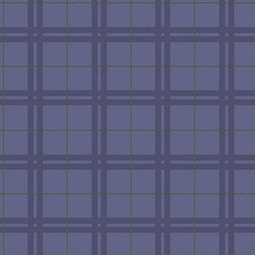 Picture of Hilary Blue Plaid Wallpaper