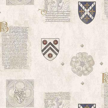 Picture of Scholar Cream Crest Wallpaper