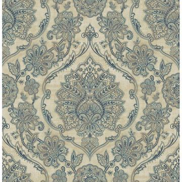 Picture of Carnegie Beige Damask