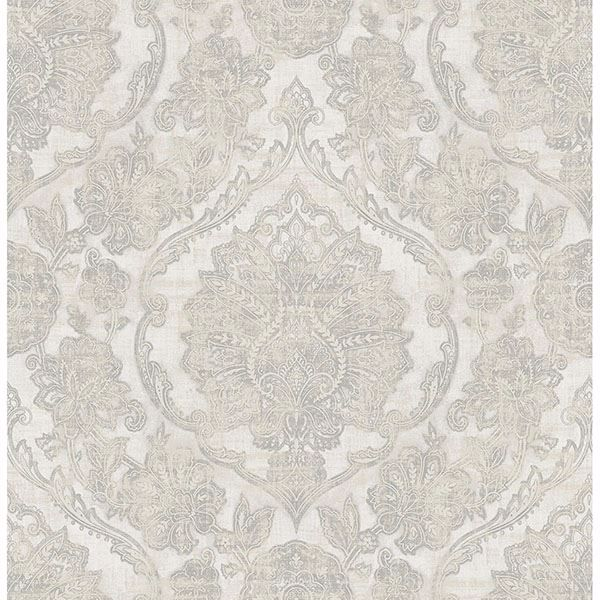 Picture of Carnegie Silver Damask