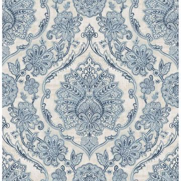 Picture of Carnegie Blue Damask
