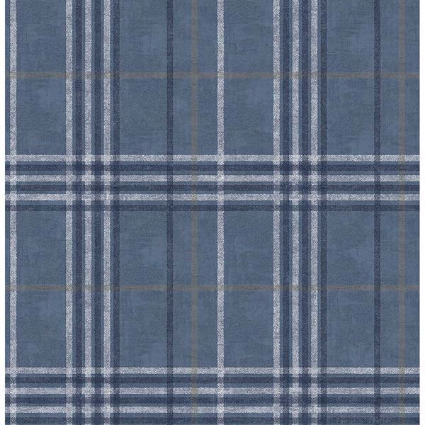 Picture of Rockefeller Navy Plaid