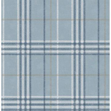Picture of Rockefeller Light Blue Plaid
