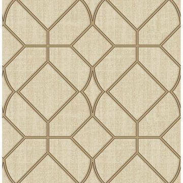 Picture of Washington Square Beige Trellis