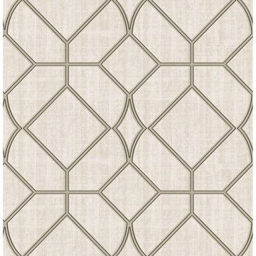 Picture of Washington Square Taupe Trellis
