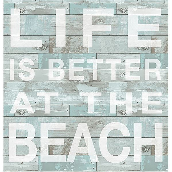 Picture of Better at the Beach Wall Quote Decals
