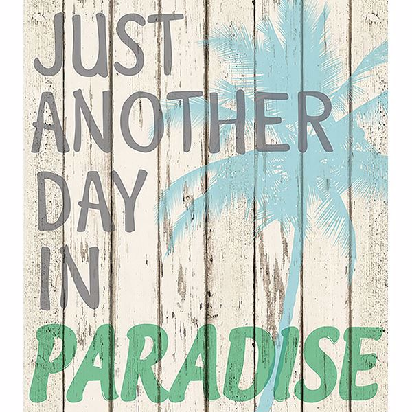 Picture of Paradise Wall Quote Decals