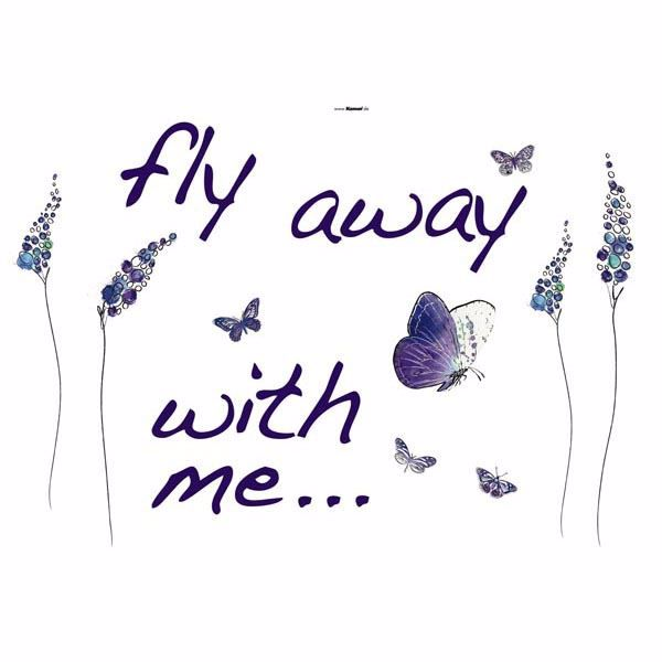 Picture of Butterflies - Wall Quotes Wall Decals