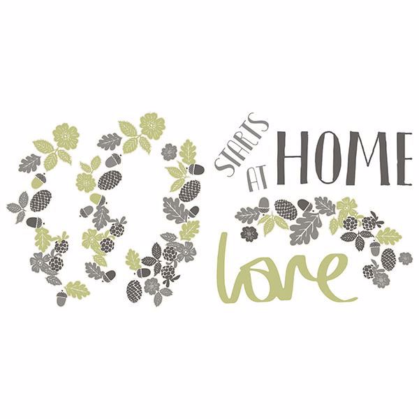 Picture of Love Starts At Home Wall Stickers