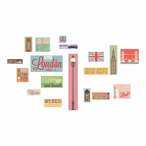 Picture of London Icons Wall Decals