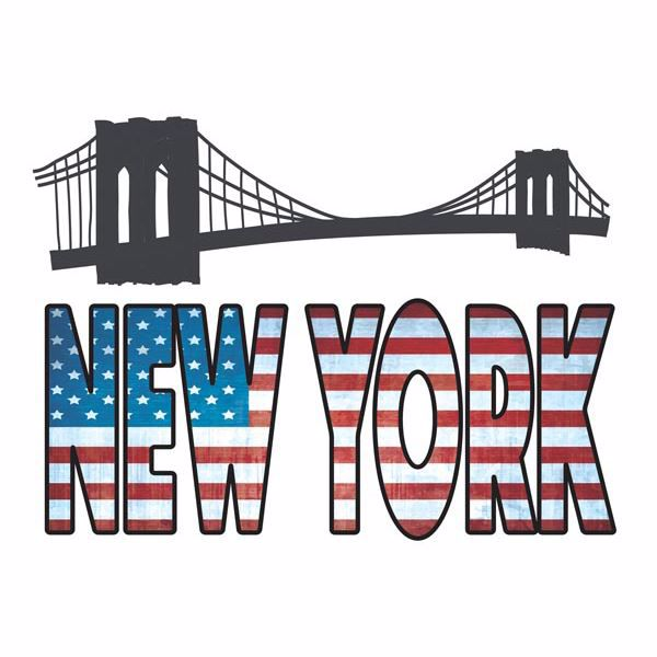 Picture of New York Wall Decals