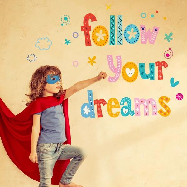Picture of Dreams Wall Quote Decals