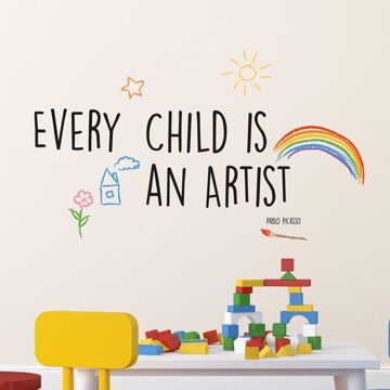 Picture of Artist Wall Quote Decals