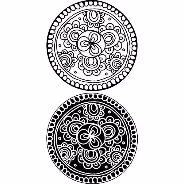 Picture of Bali Dot Wall Decals