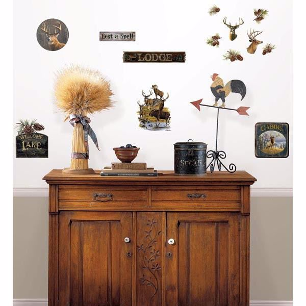 Picture of Lodge Decals Wall Art Kit