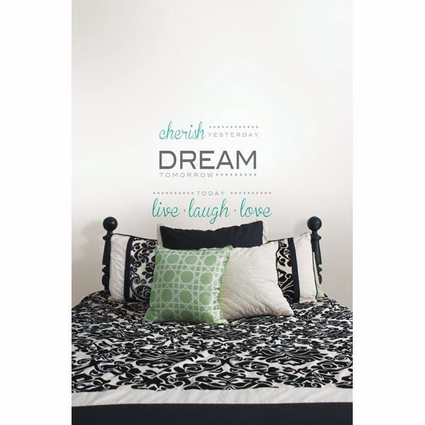 Picture of Cherish Dream Live - Wall Quotes Wall Decals