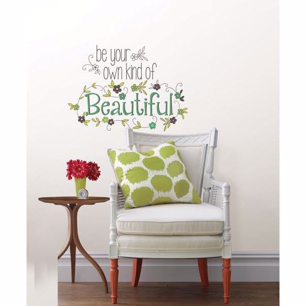 Picture of Be Your Own Kind Of Beautiful Wall Quote Decals