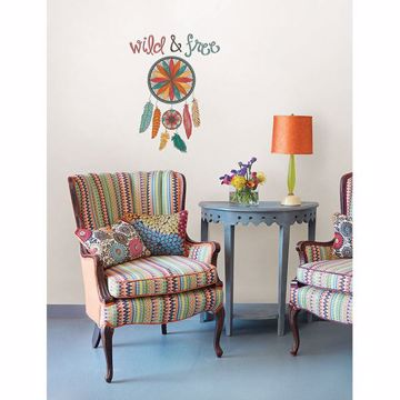 Picture of Wild and Free Wall Quote Decals