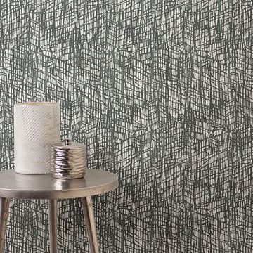 Picture of Shimmer Grey Abstract Texture Wallpaper