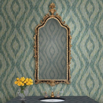 Picture of Ethereal Green Ogee Wallpaper