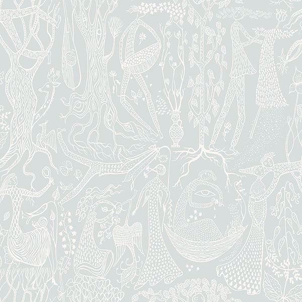 Picture of Poem d'Amour Sage Folk Wallpaper