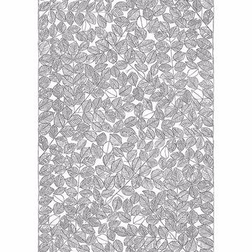 Picture of Romans Black Leaf Wallpaper
