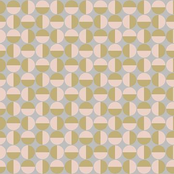 Picture of Vertigo Pink Geometric Wallpaper