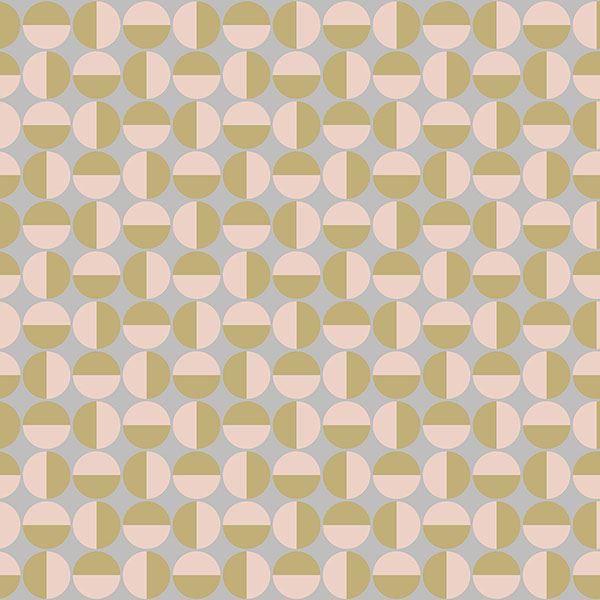 Picture of Vertigo Pink Geometric Wallpaper