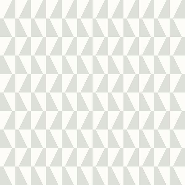 Picture of Trapez Light Green Geometric Wallpaper