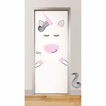 Picture of Gigi the Unicorn  Door Decal
