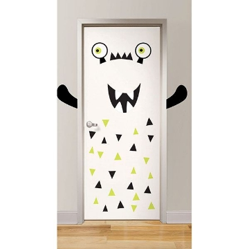 Picture of Hank the Monster  Door Decal