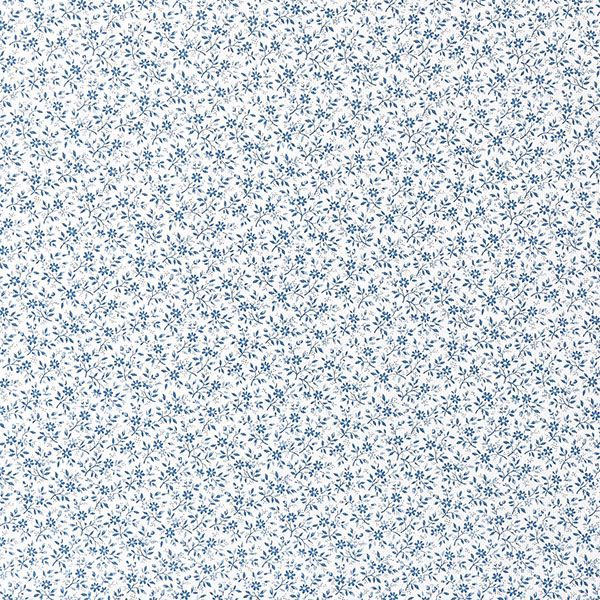 Picture of Small Floral Blue  Adhesive Film
