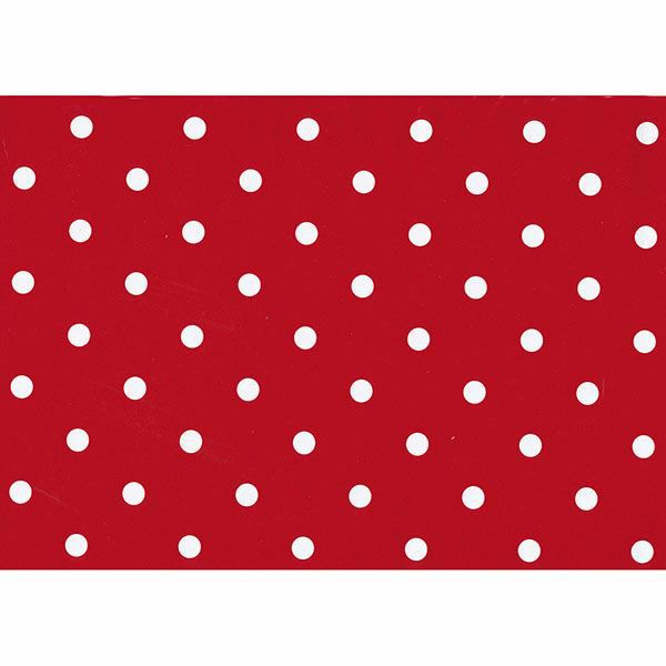 Picture of Polka Dot Red  Adhesive Film