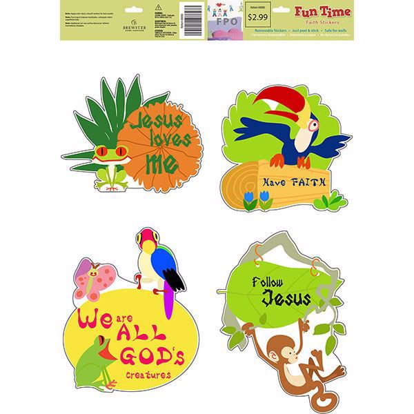 Picture of Gods Creatures Wall Stickers