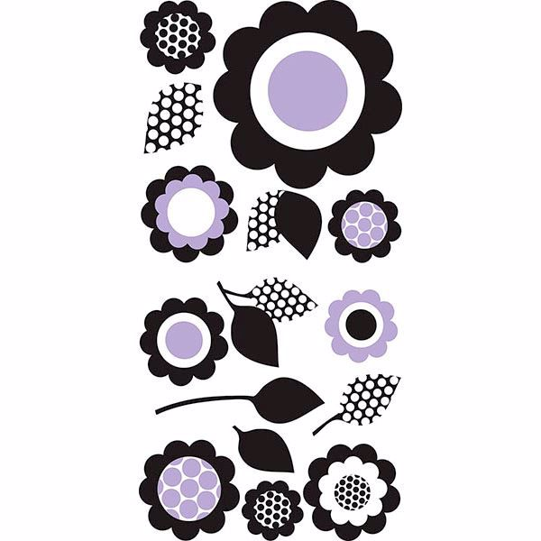 Picture of Pink Floral Wall Art Kit