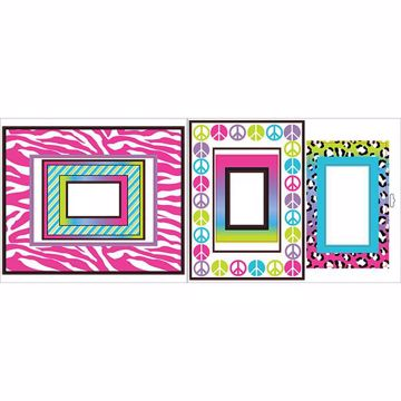 Picture of Animal Print Frames Wall Stickers