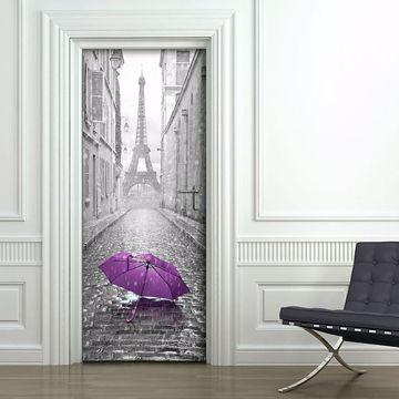 Picture of Eiffel Tower Door Cover  Applique