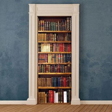 Picture of Bookcase Door Cover  Applique