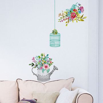 Picture of Romantic Flowers  Wall Decals